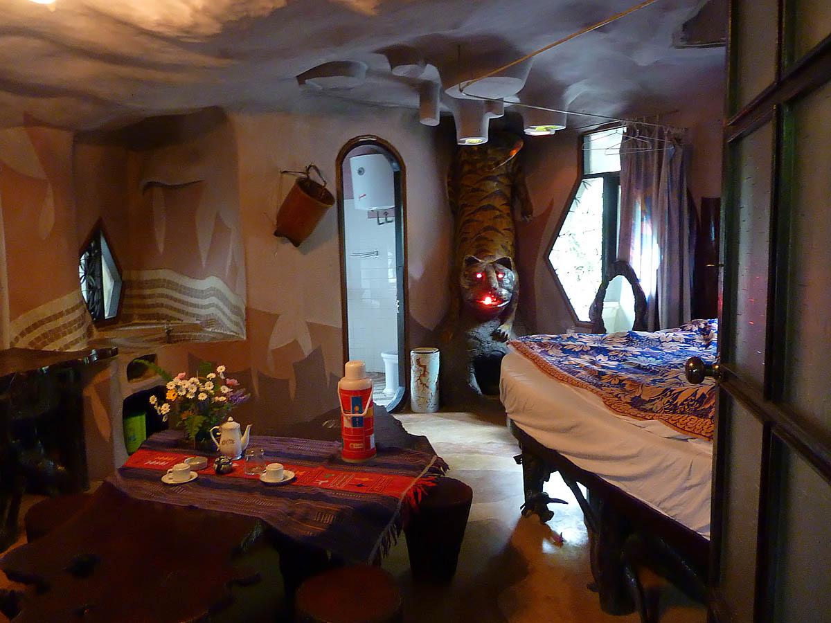 комната тигра в Crazy House