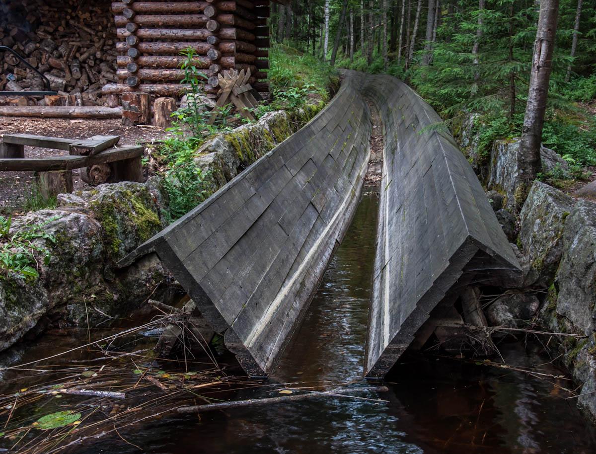 лесосплавный канал Kuutinkanava