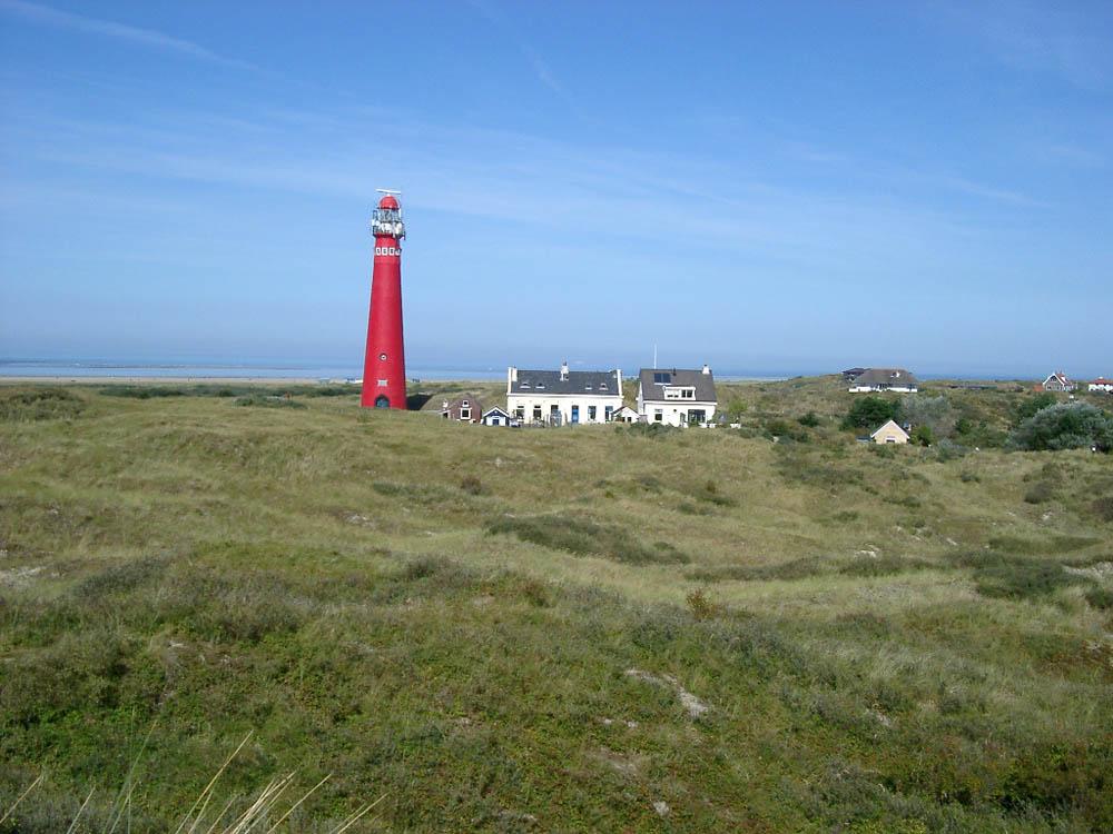 маяк на острове Шхирмонникоох, Нидерланды
