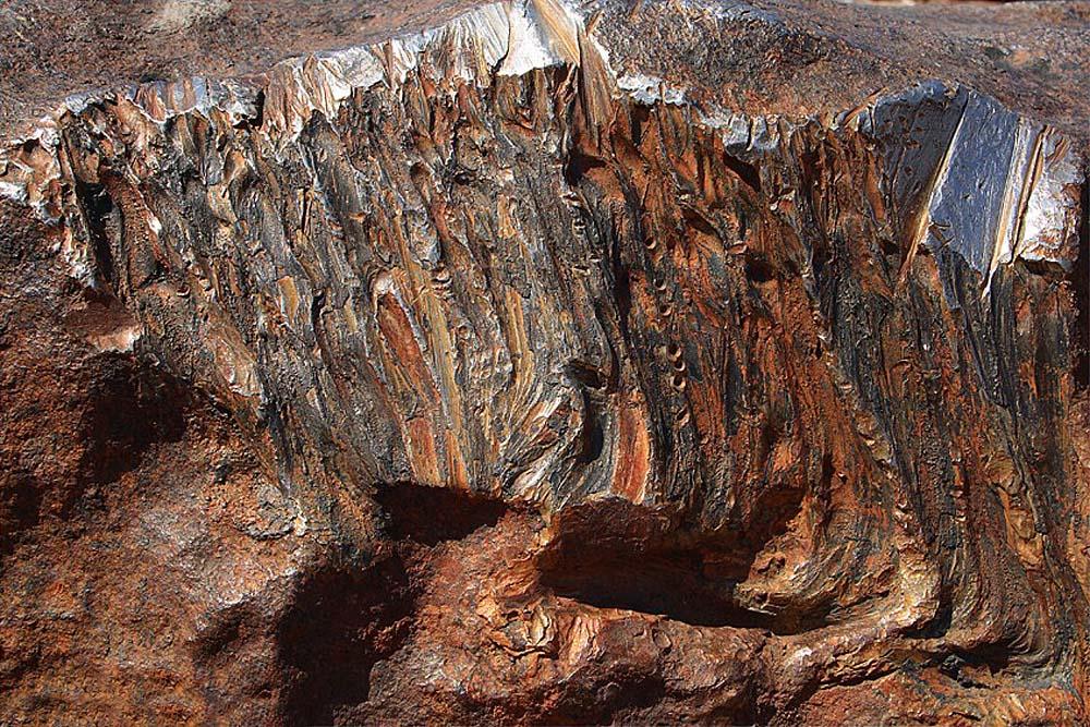 метеорит Гоба в Намибии, Южная Африка