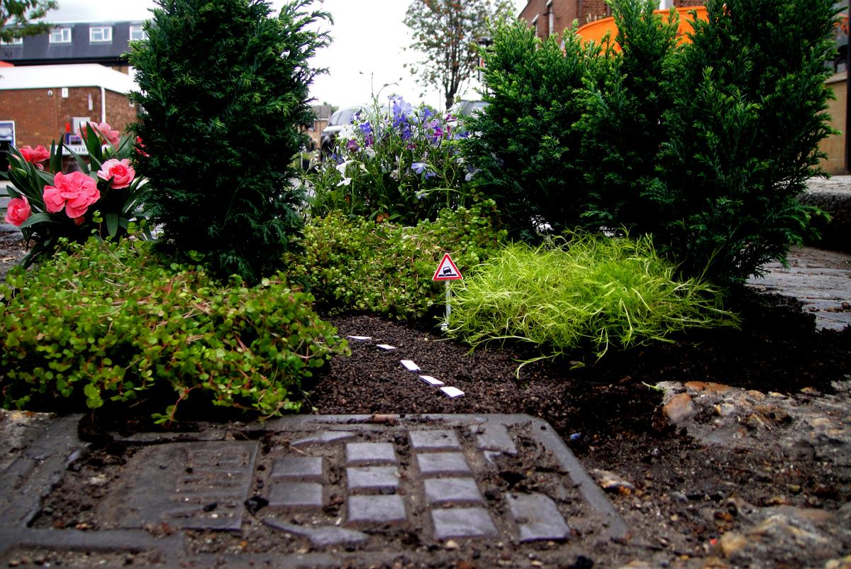 mini-gardens, London