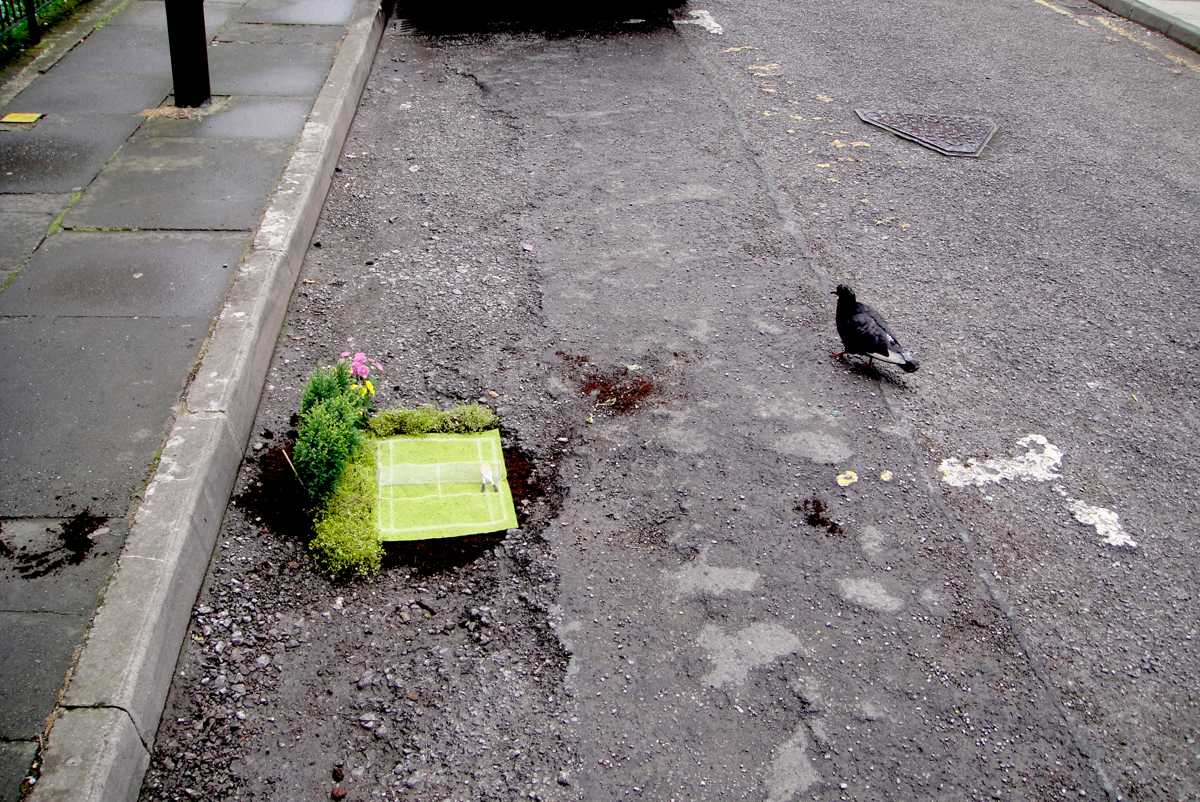 мини-сады Стива Уина на улицах Лондона, Англия