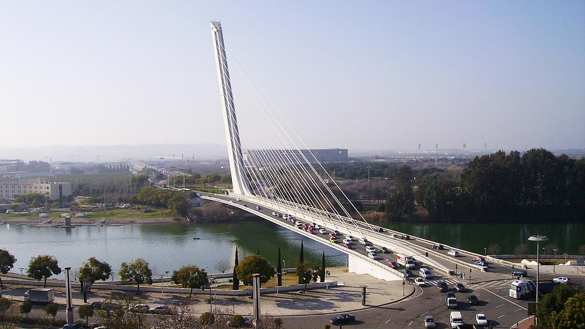 мост Аламильо в Севилье, Испания