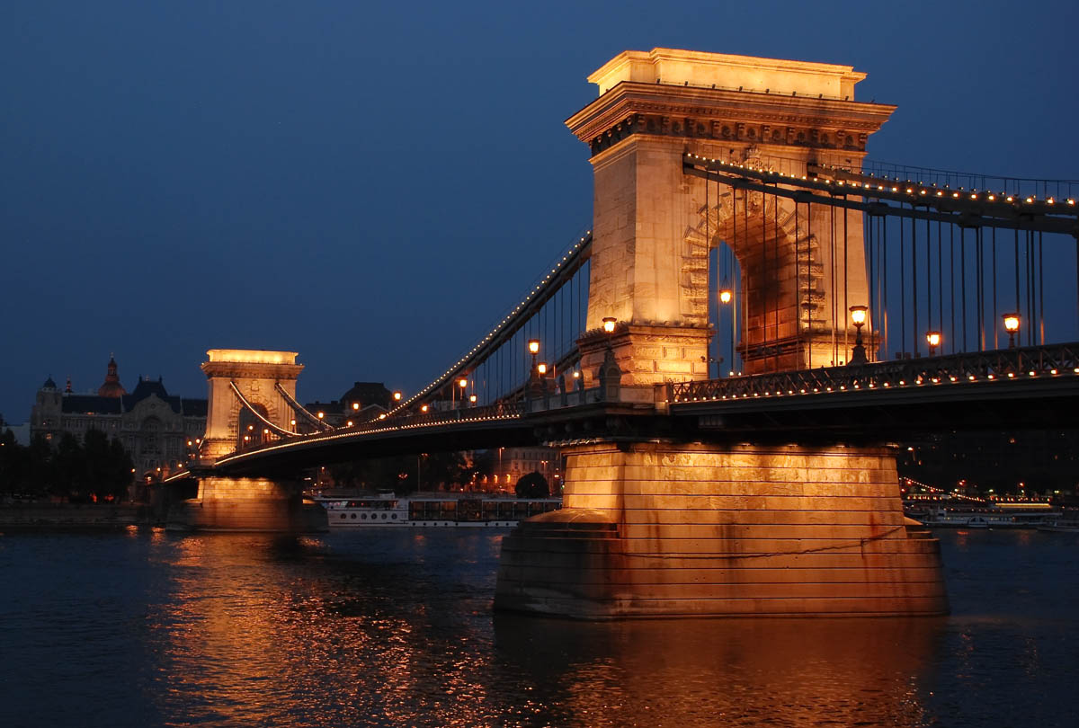 мост Сечени, Будапешт, Венгрия