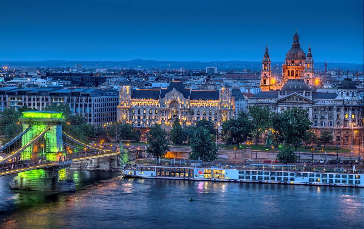 мост Сечени, Будапешт