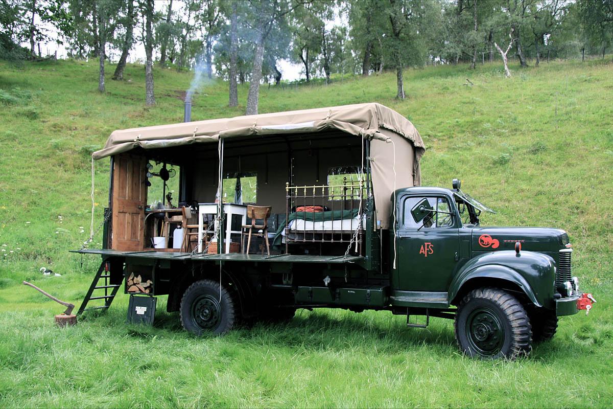 отель в грузовике The Beer Moth