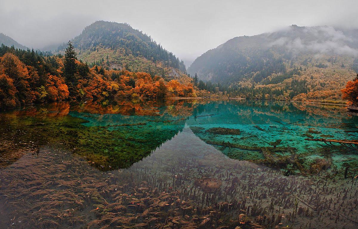 озера Цзючжайгоу, Тибет, Китай