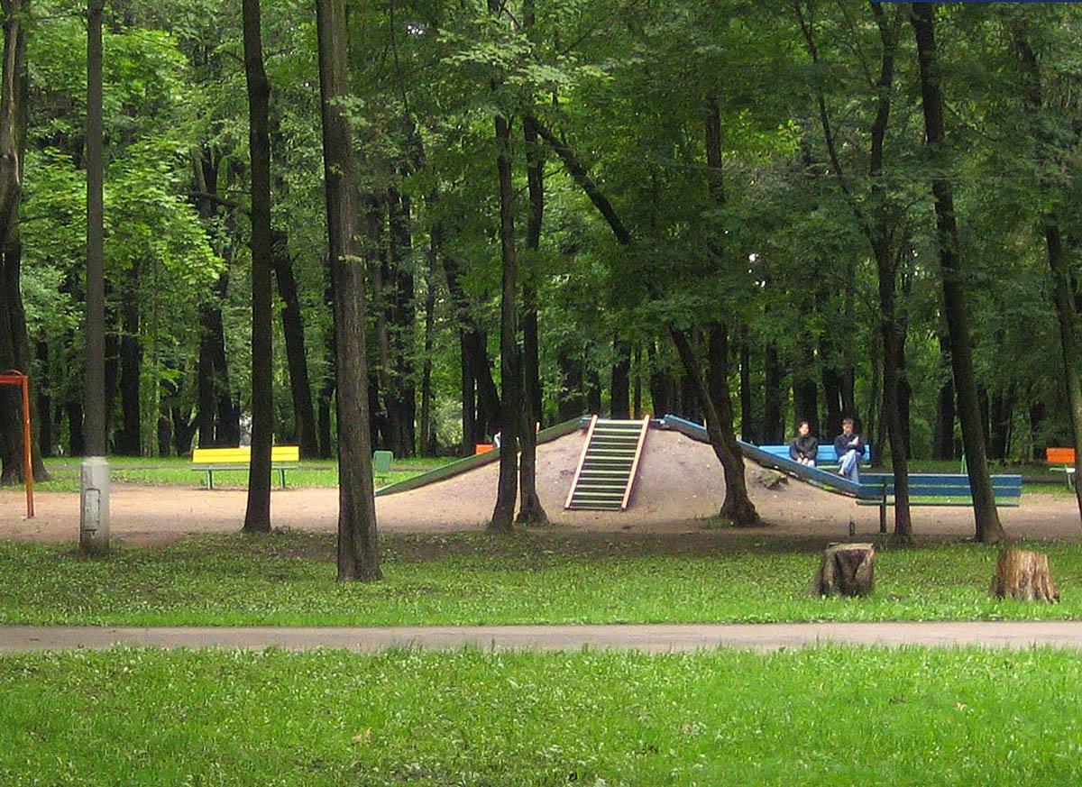 парк Лефортово, Москва, Россия