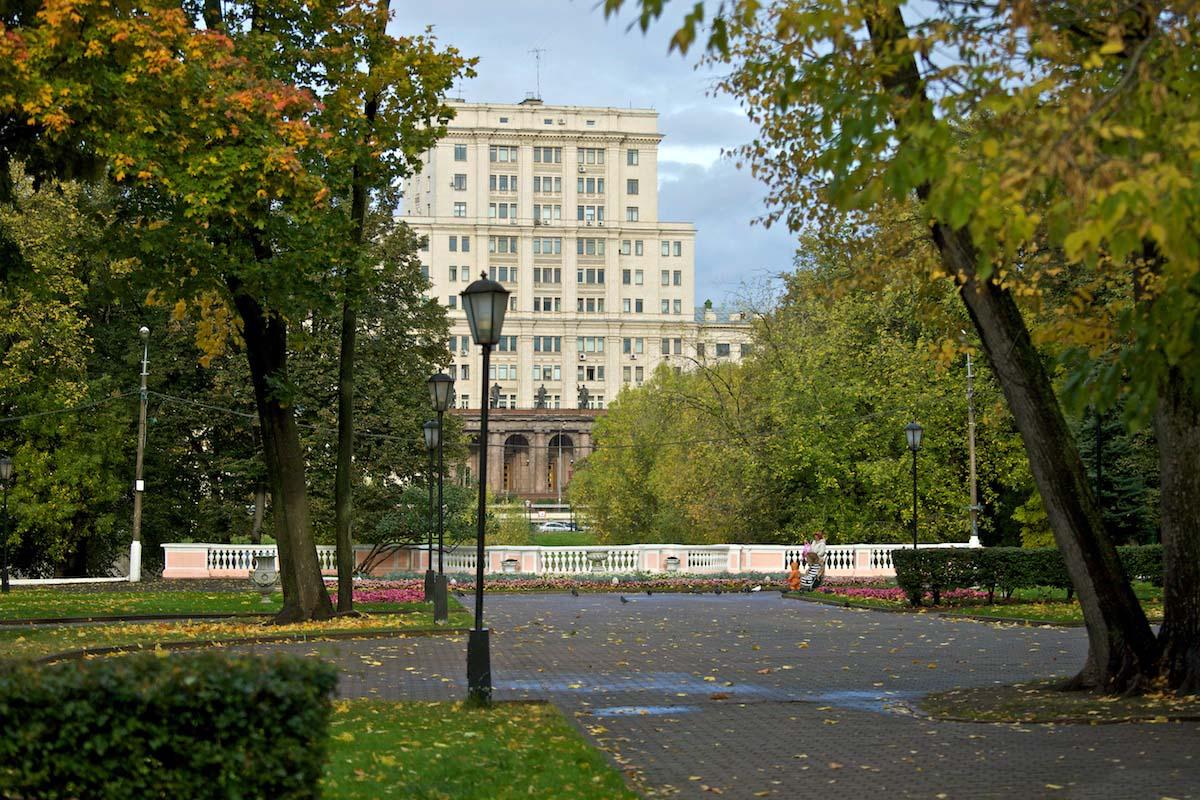 парк Лефортово в Москве, Россия