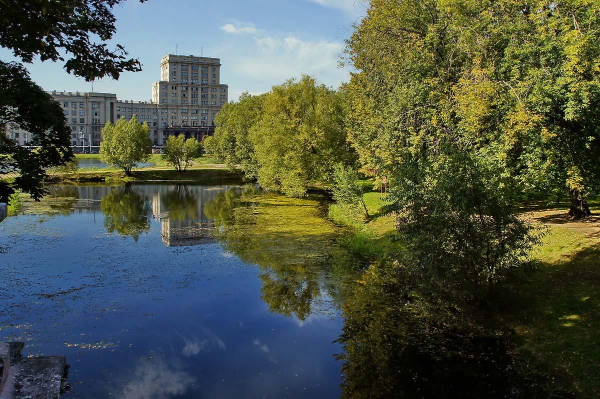 парк Лефортово в Москве