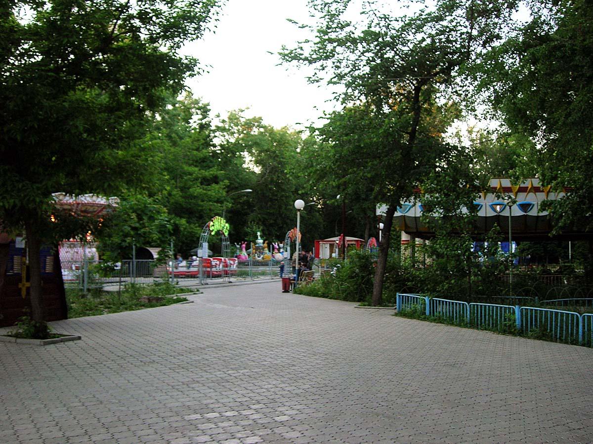парк аттракционов в Воронеже