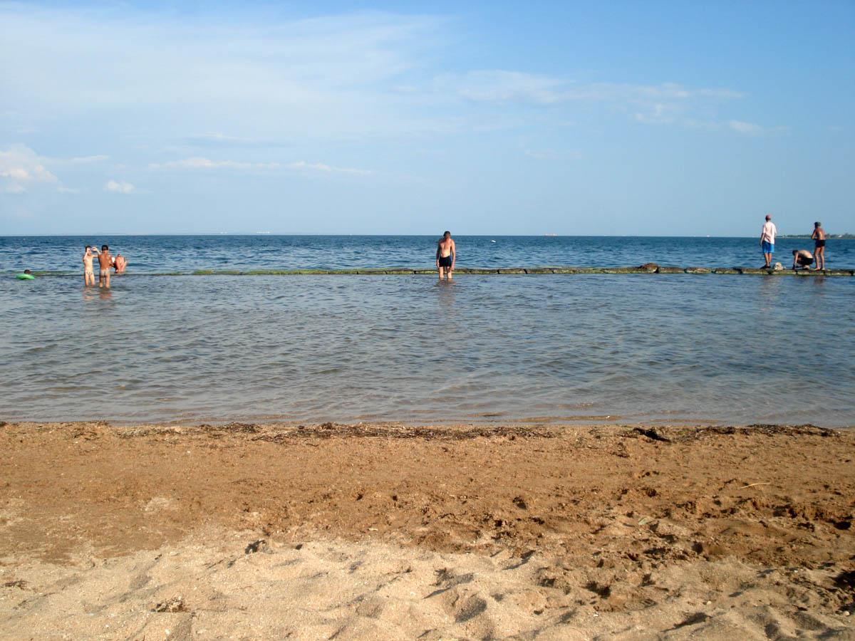 пляж в Керчи, Крым