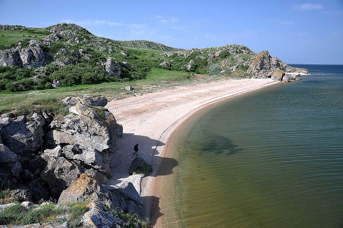 пляжи Керчи