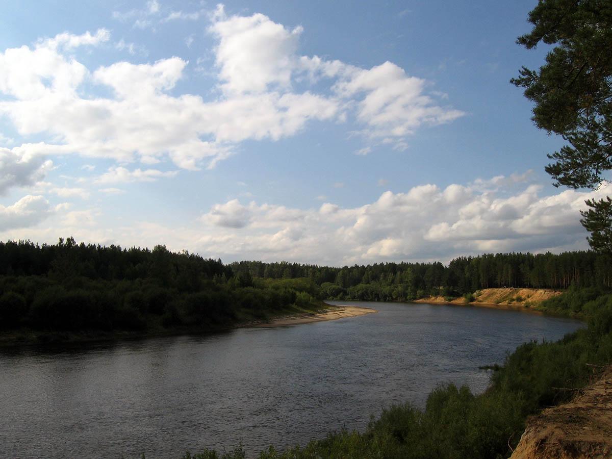 река Ветлуга, Нижегородская область, Россия
