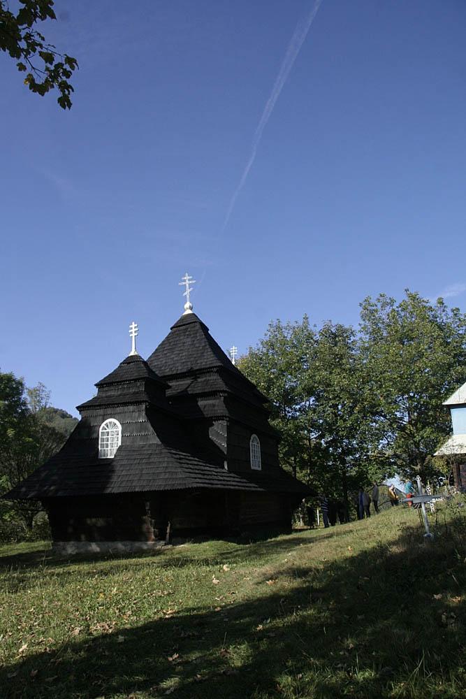церковь, Ужанский нацпарк, Карпаты