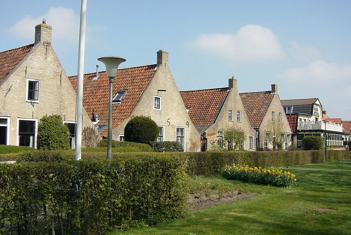 улицы деревни Шхирмонникоох, Нидерланды