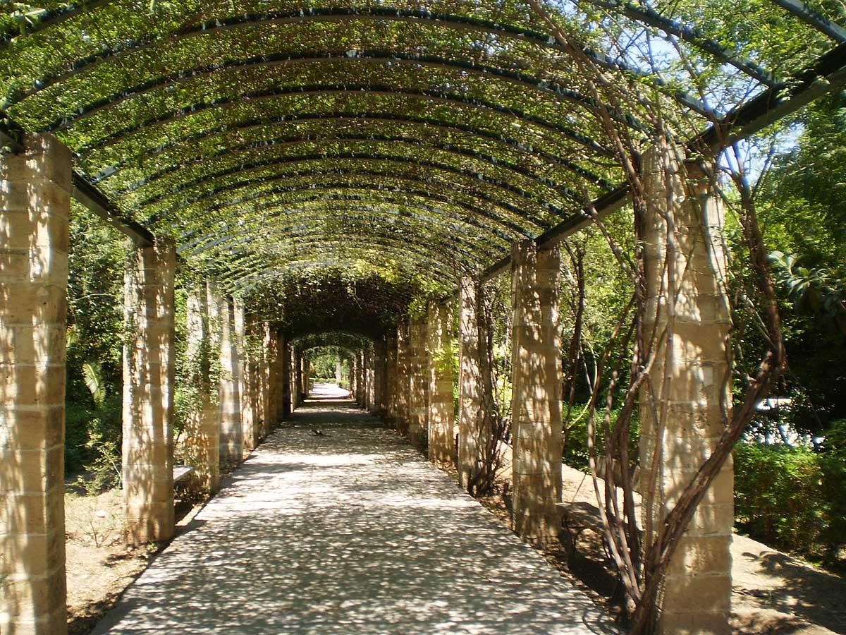 виадук в Национальном саду Афин