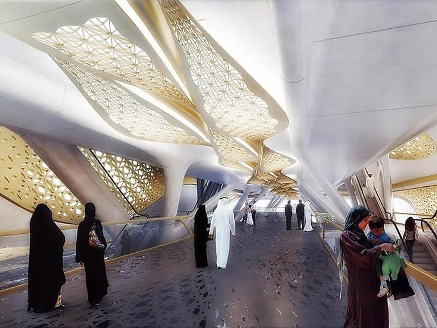 зеленая станция в Эр-Рияде, Саудовская Аравия