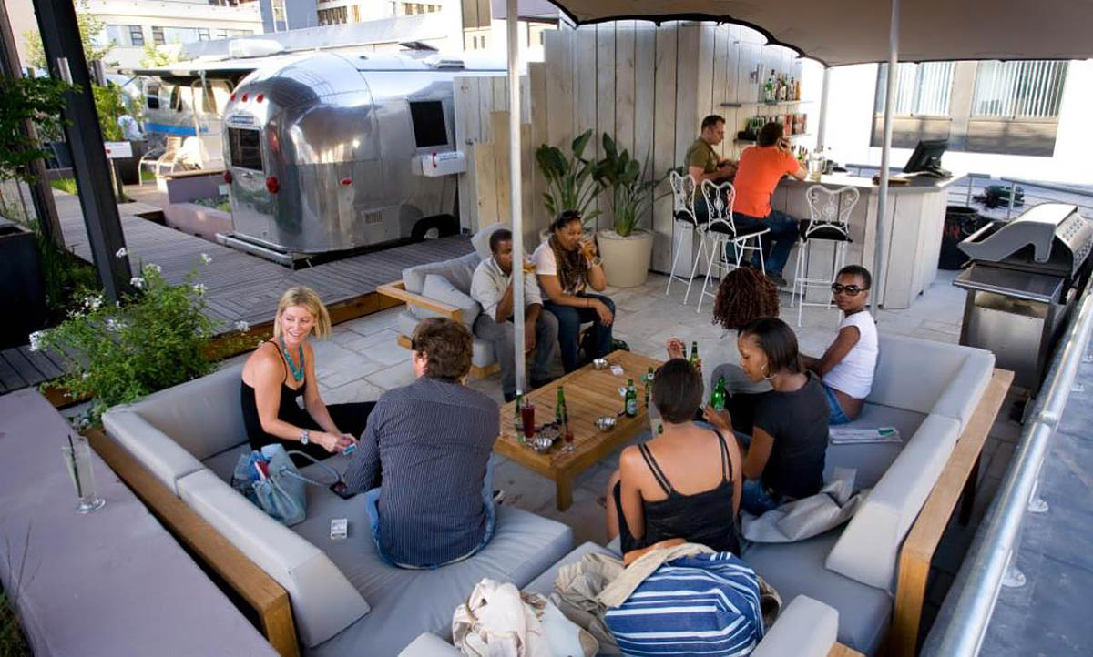 Airstream Penthouse Park Hotel, South Afrika
