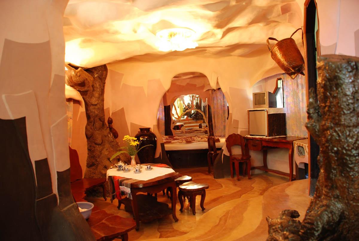 Crazy House interior
