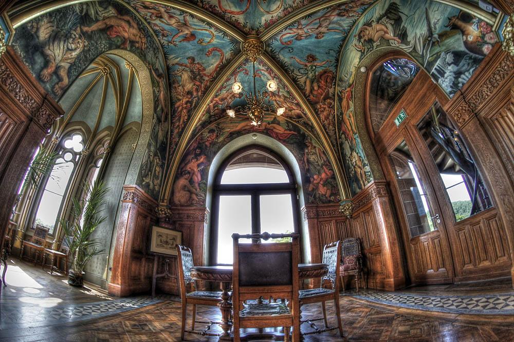 Deckengemaelde im Schloss Drachenburg