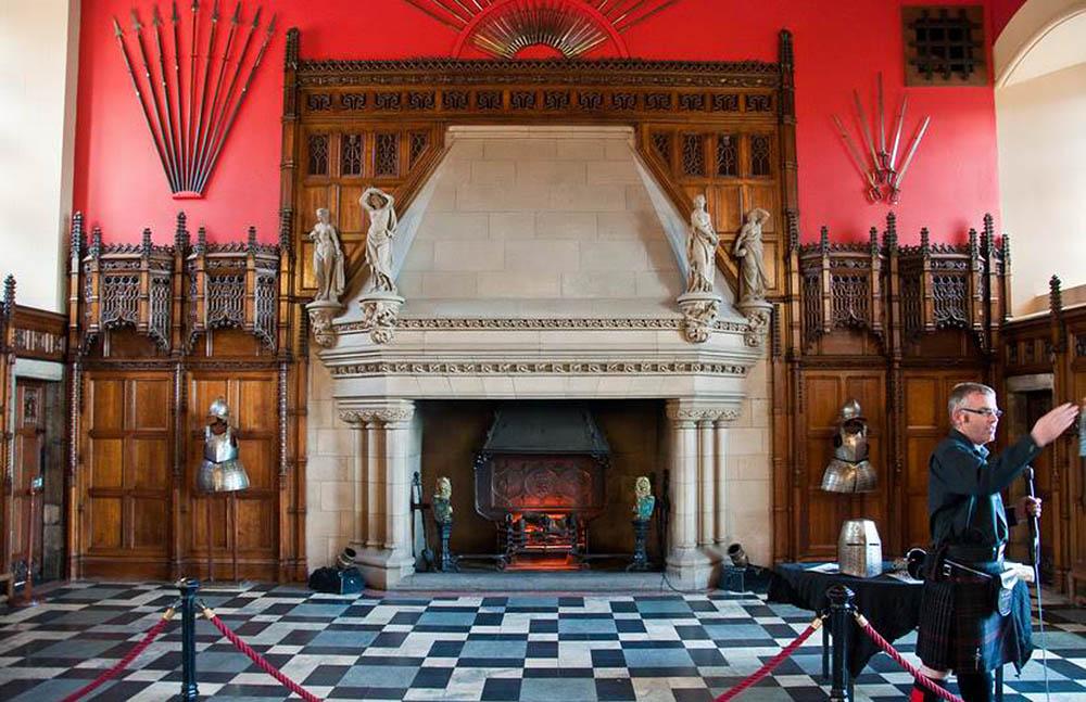 Эдинбургский замок, интерьер