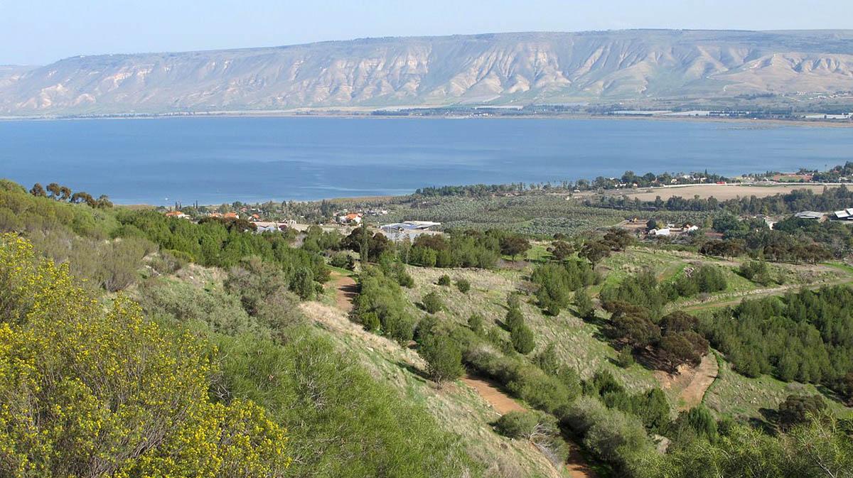 Генисаретское озеро, Израиль