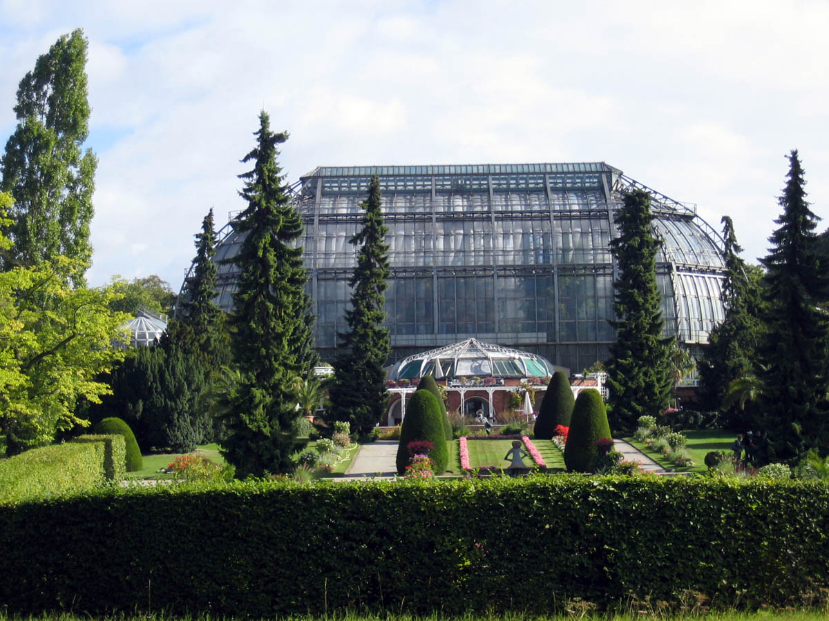 Gewaechshaus Botanischer Garten Berlin