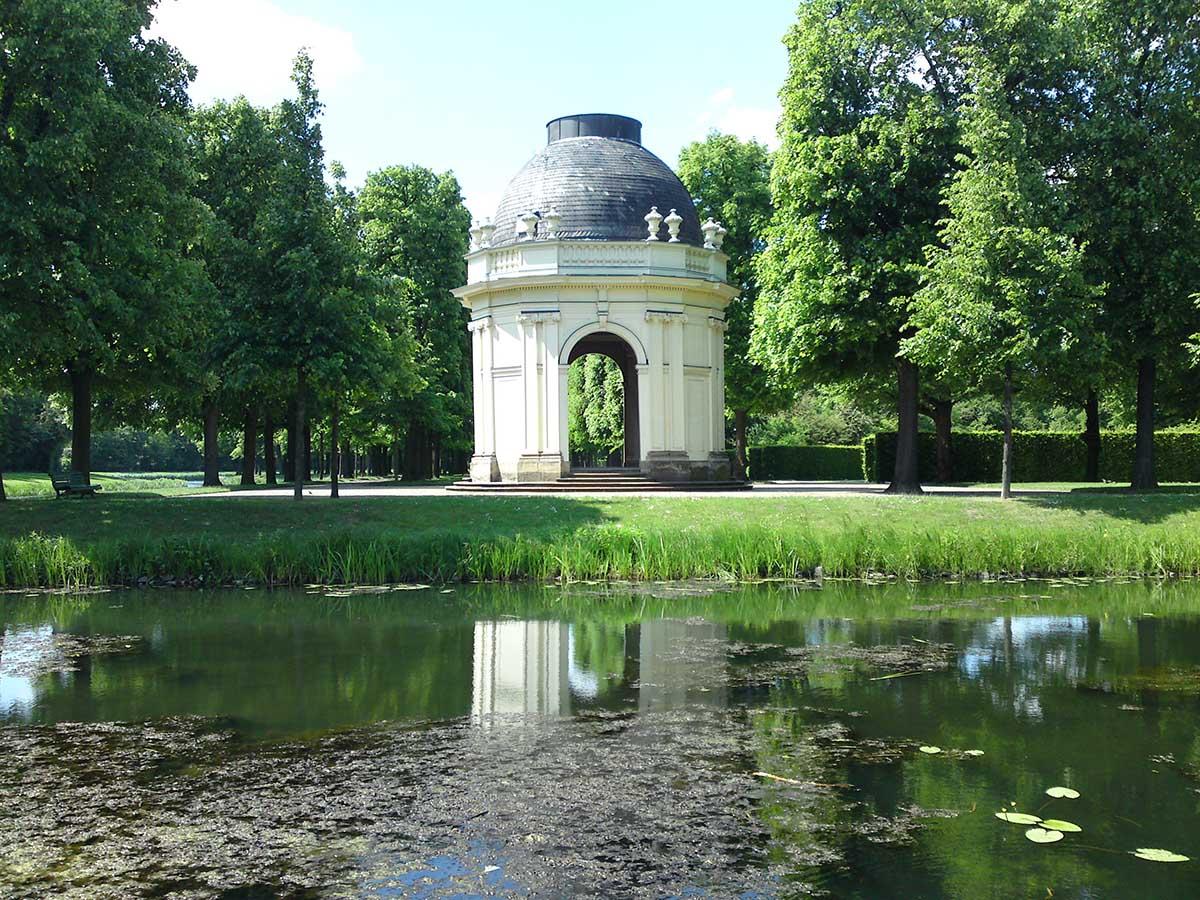 Hannover Herrenhaeuser Gaerten, Germany