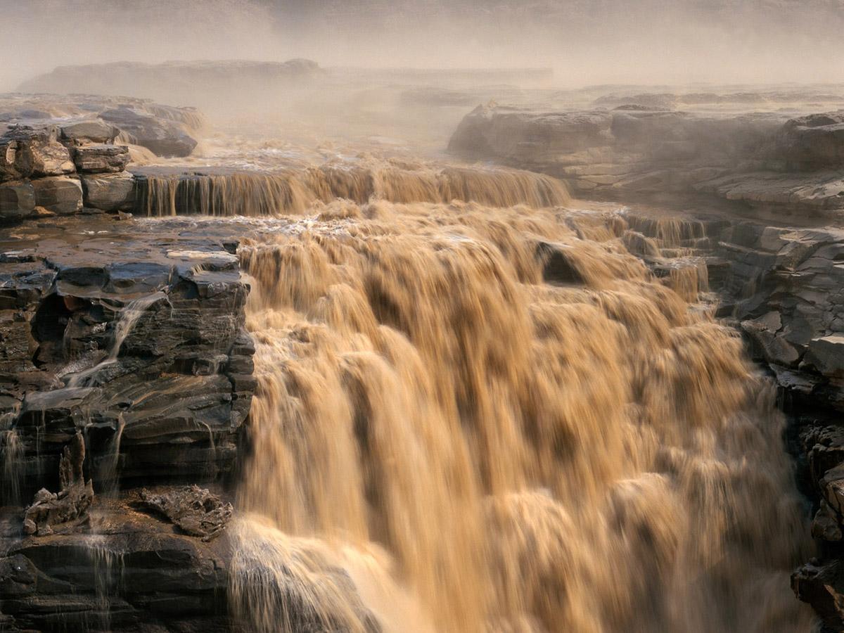 Hukou Waterfalls, China