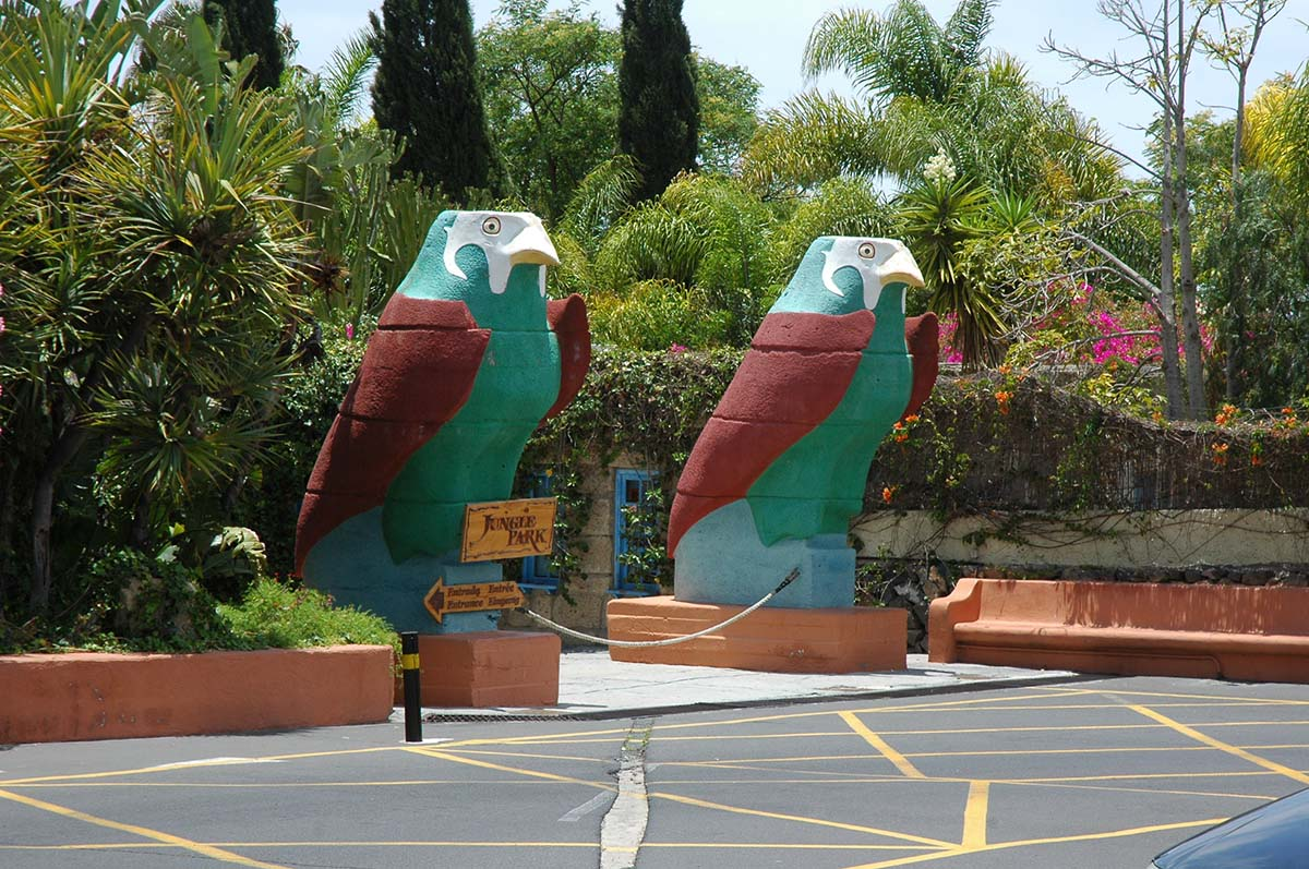 Las Aguilas Jungle Park, Tenerife, Spain