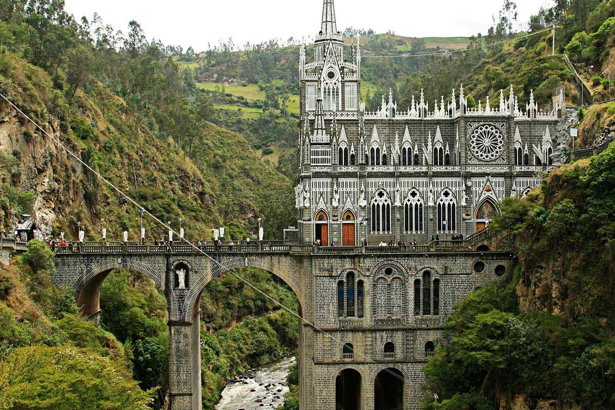 Las Lajas Cathedrale