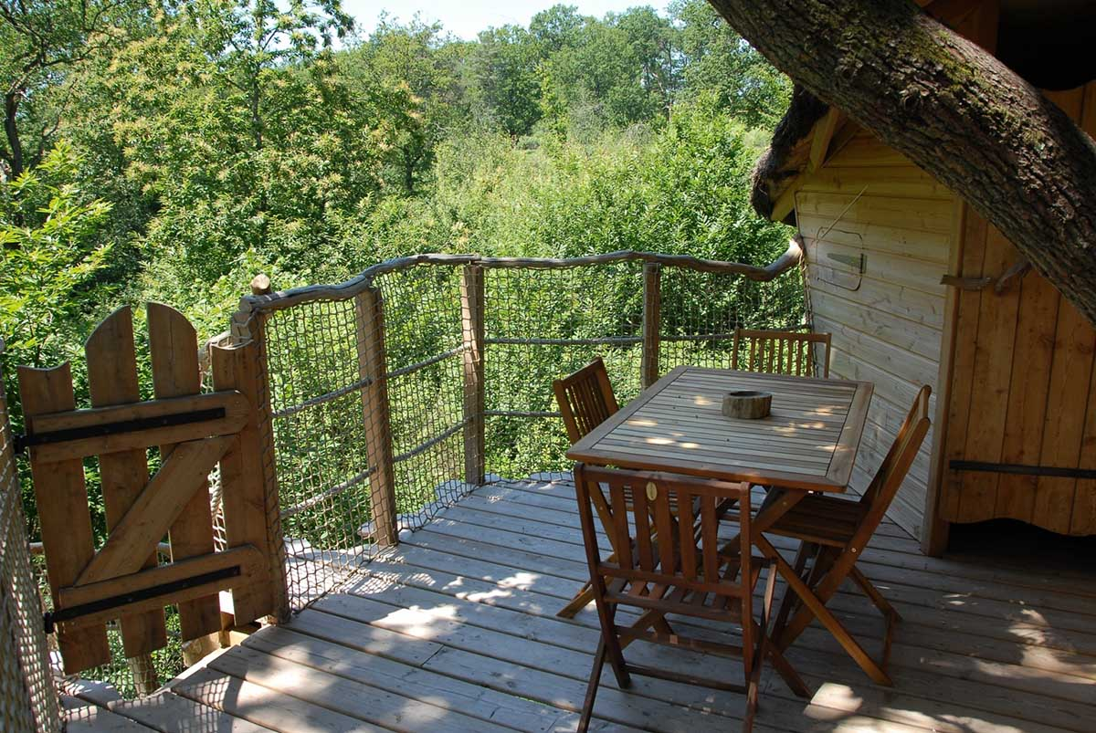Les Alicourts Resort Treehouses, France