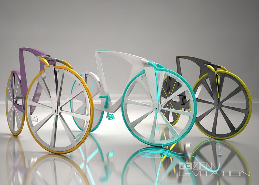 Levitation Concept Bike