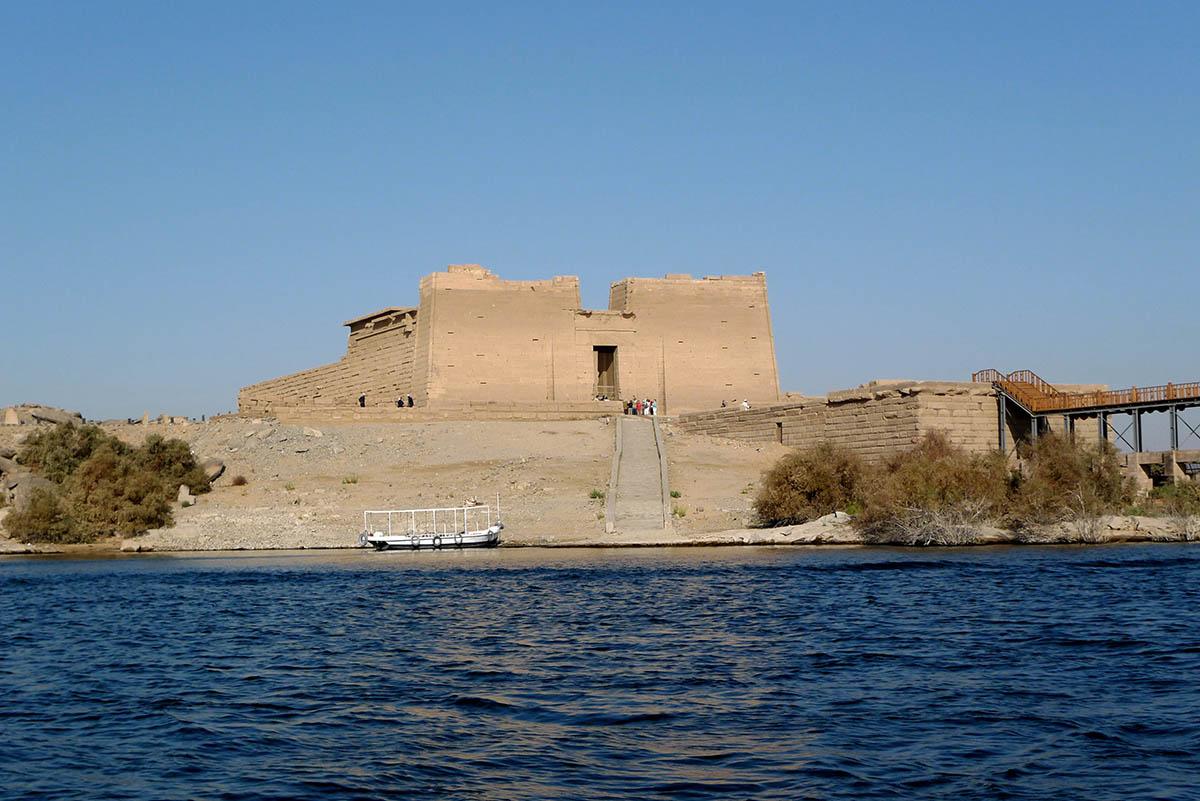 Nasser lake, Kalabsha Temple, Egypt