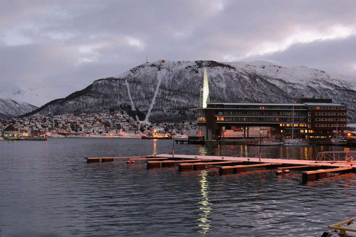 Полярный день в Норвегии
