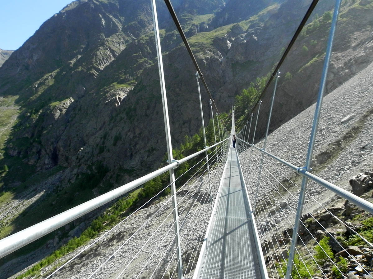Прогулка по небу, мост Raiffeisen Skywalk
