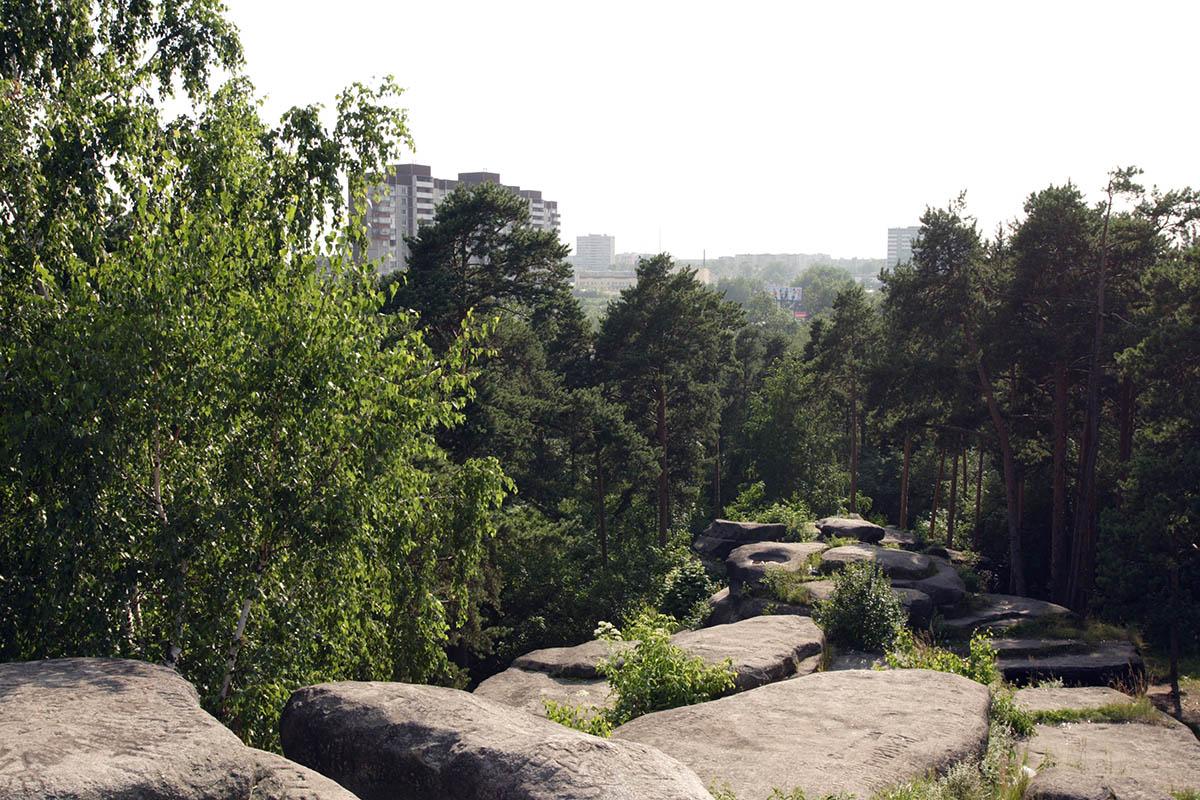 Шарташские Каменные палатки в Екатеринбурге