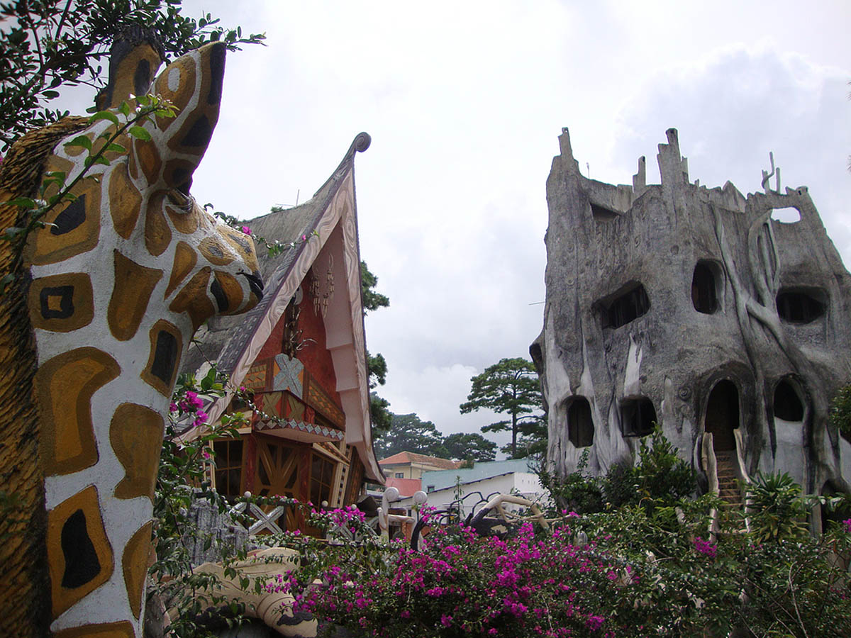 The Hang Nga Hotel in Dalat, Vietnam