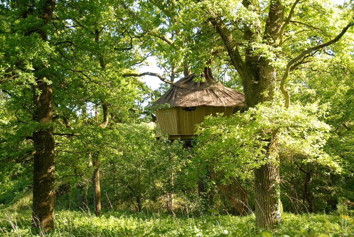 Treehouses Alicourts, France