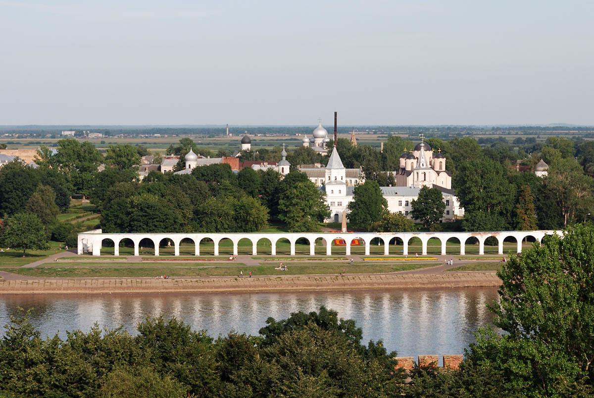 Великий Новгород, Волга