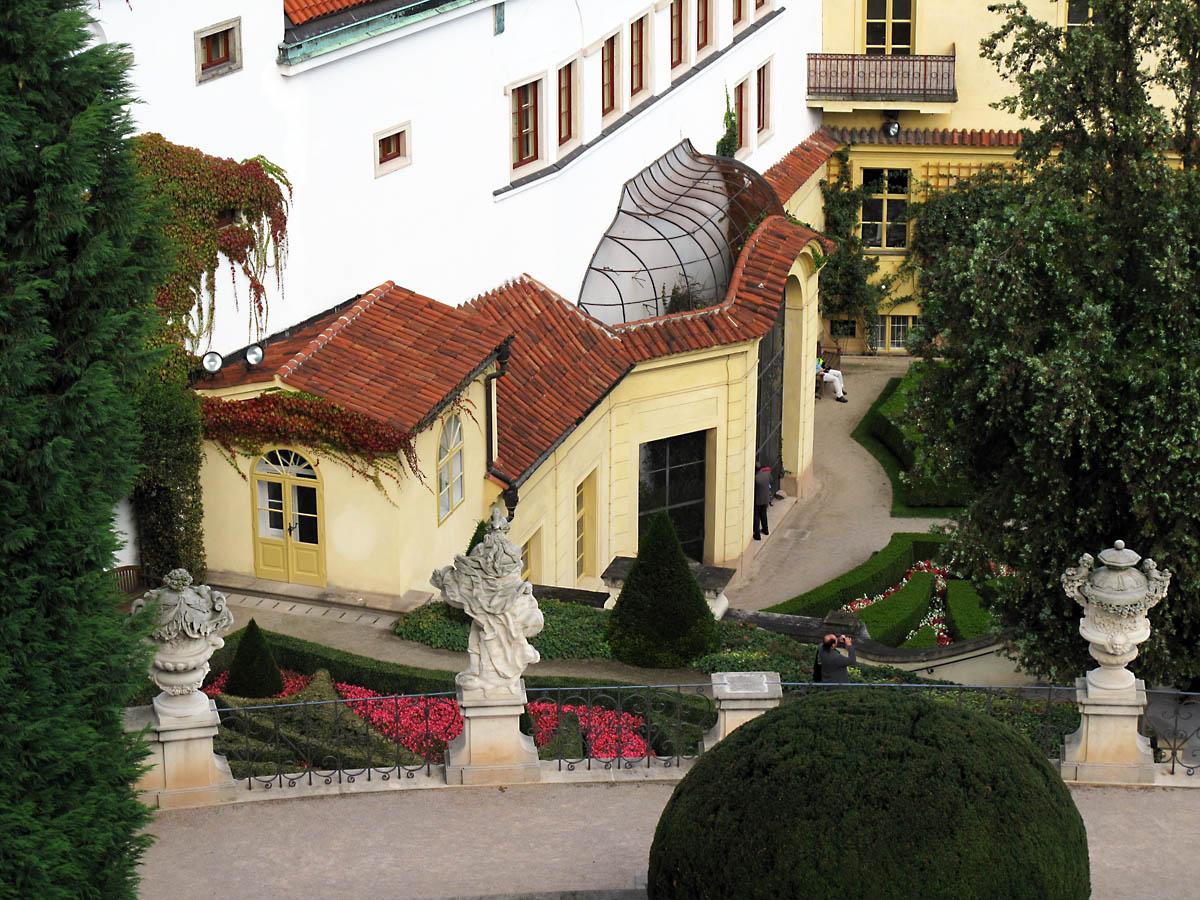 Вртбовский дворец, Прага