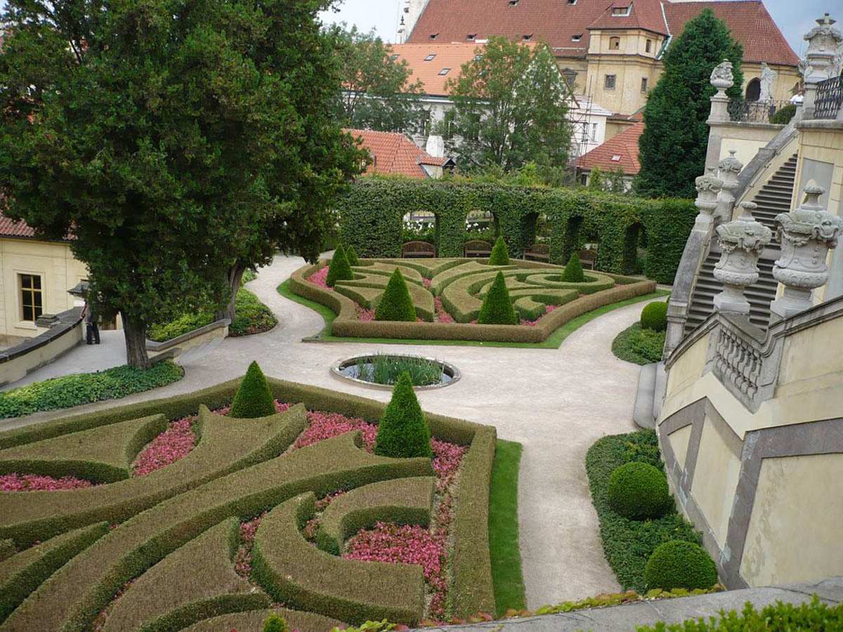 Вртбовский сад, Прага, Чехия