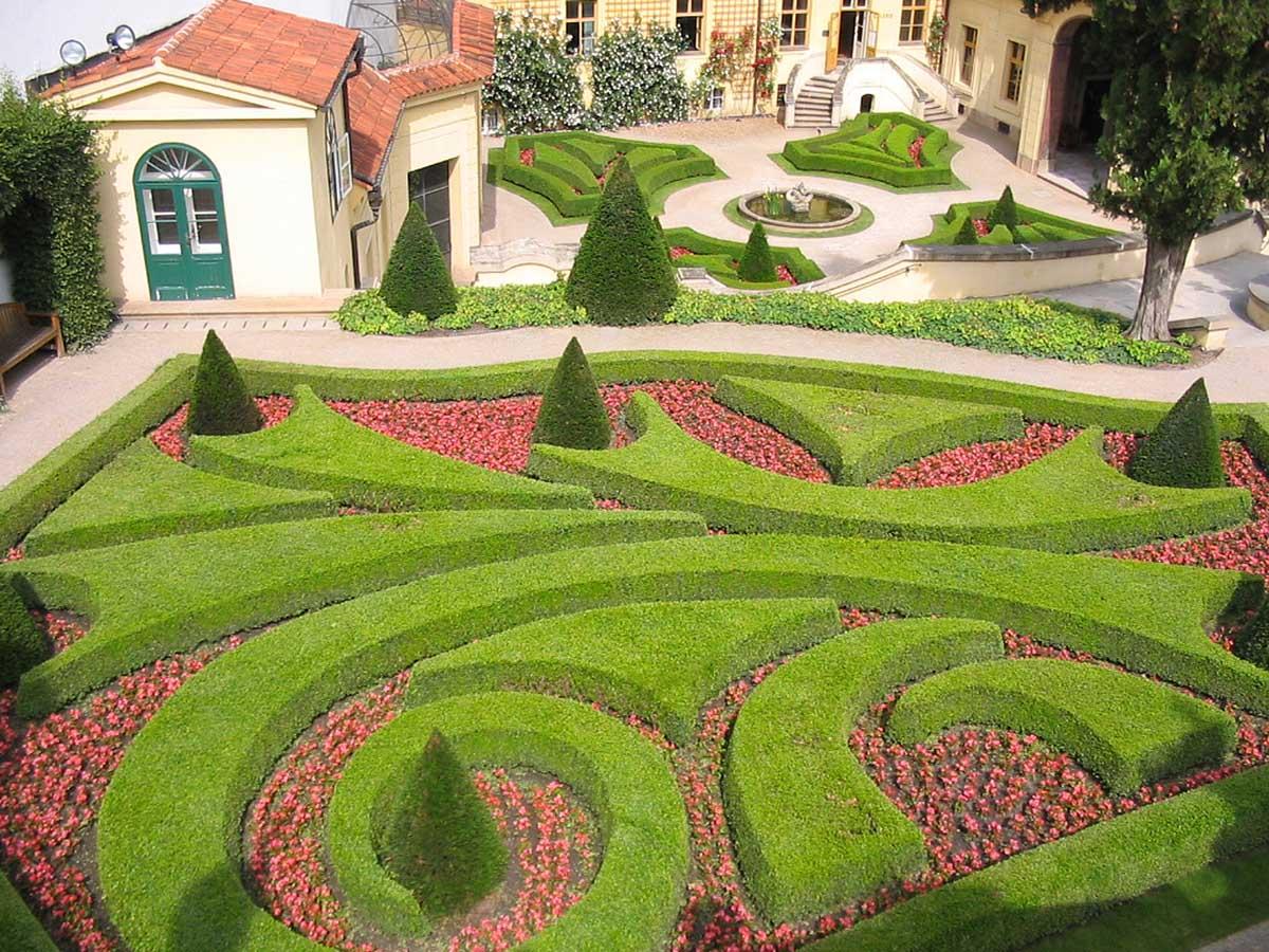Вртбовский сад в Праге, Чехия
