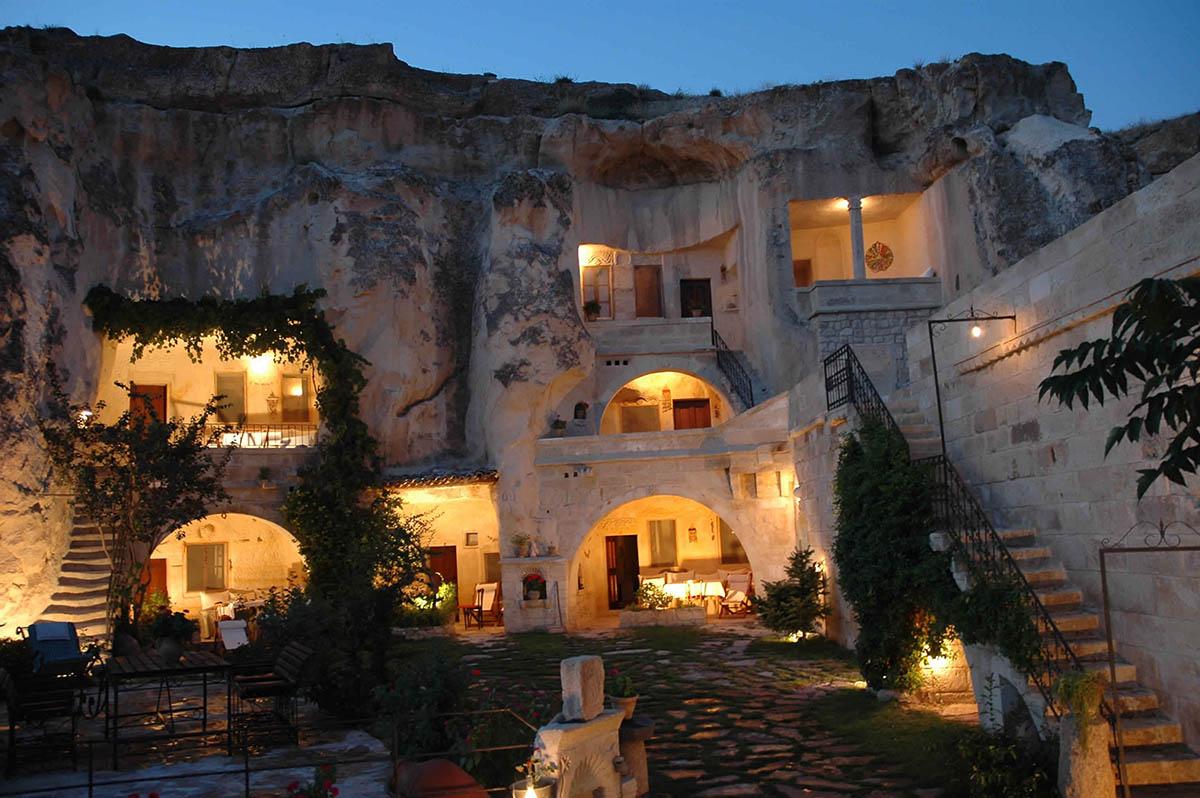 Yunak Evleri hotel, Cappadocia, Turkey