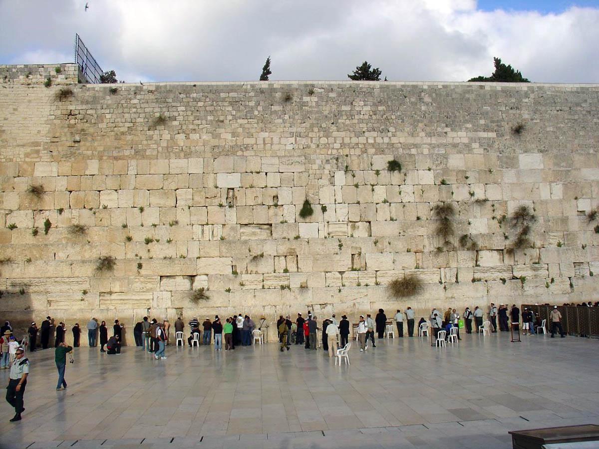 Западная стена на Храмовой горе, Иерусалим, Израиль