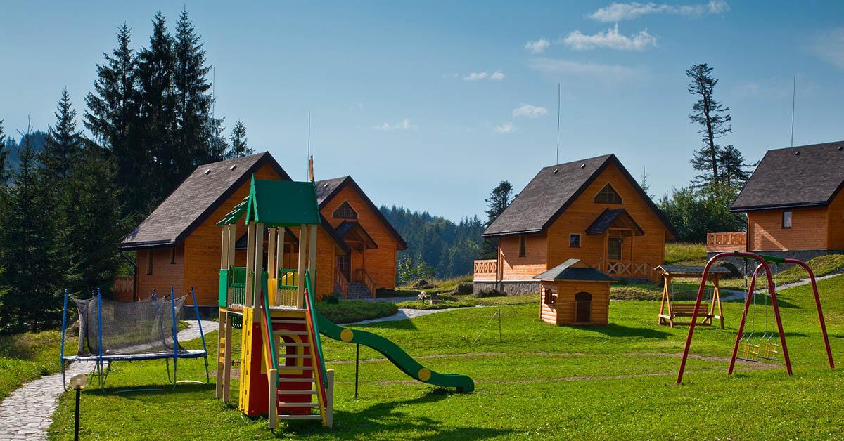 эко-курорт Хутор Тихий, Карпаты, Украина