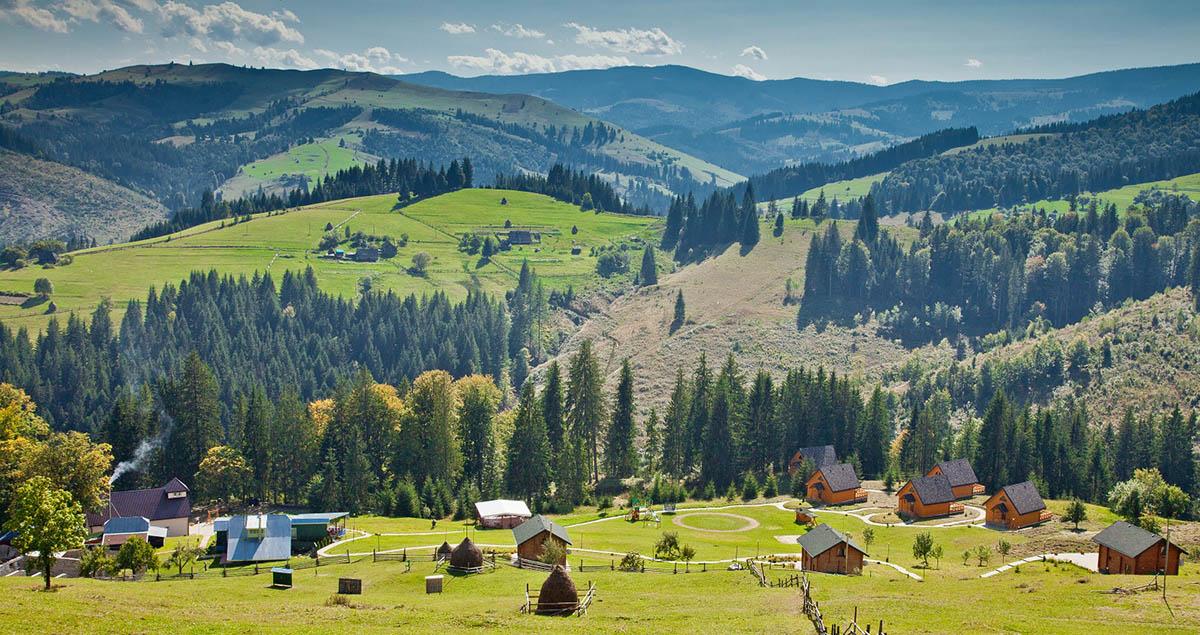 эко-курорт Хутор Тихий, Украинские Карпаты
