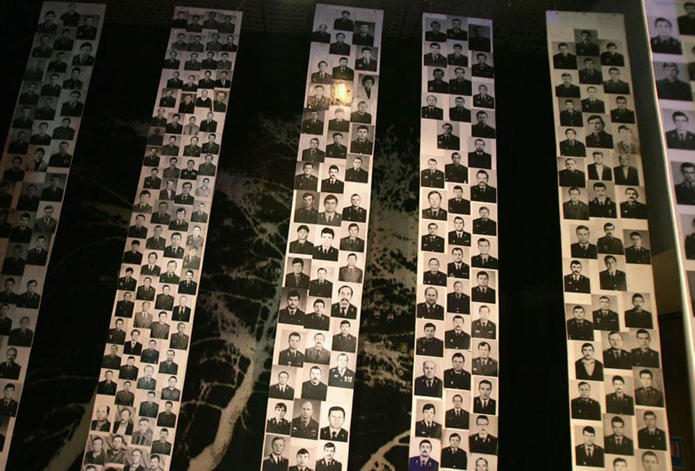 фотографии ликвидаторов последствий аварии Чернобыльской АЭС