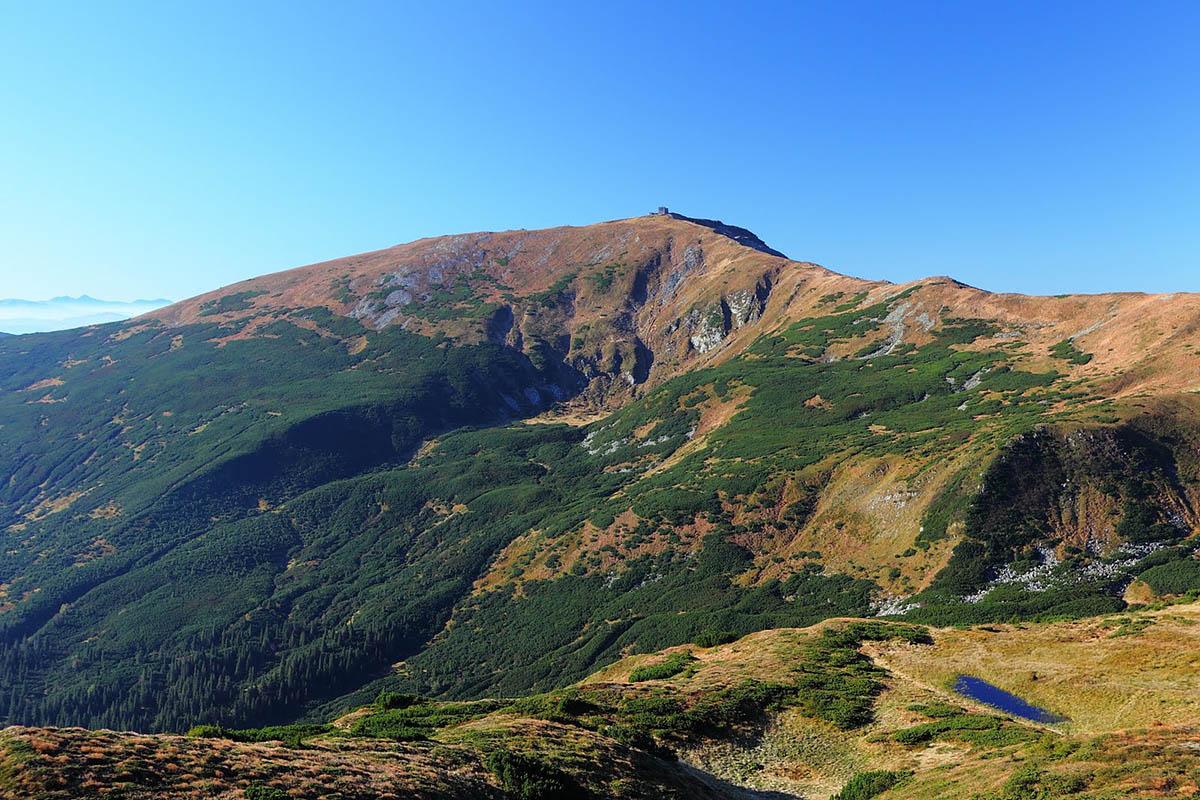 гора Поп Иван Черногорский, Карпаты